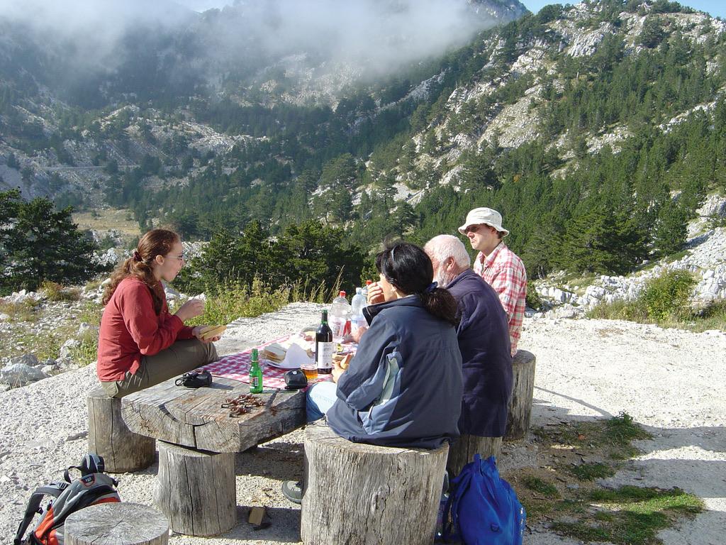 Picknick Im Orjen Gebirge