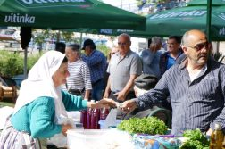 geführte Wanderreise Montenegro Bauernmarkt in Stari Bar