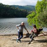geführte Wanderreise Portugal Wanderpause am See