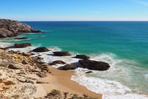 geführte Wanderreise Südportugal Sandstrand
