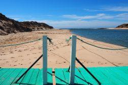 Wanderreise Südportugal Mündung Rio Mira