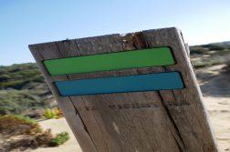 geführte Wanderreise Südportugal Schild Rota Vicentina