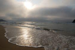 geführte Wanderreise Südportugal Sonnenuntergang am Strand