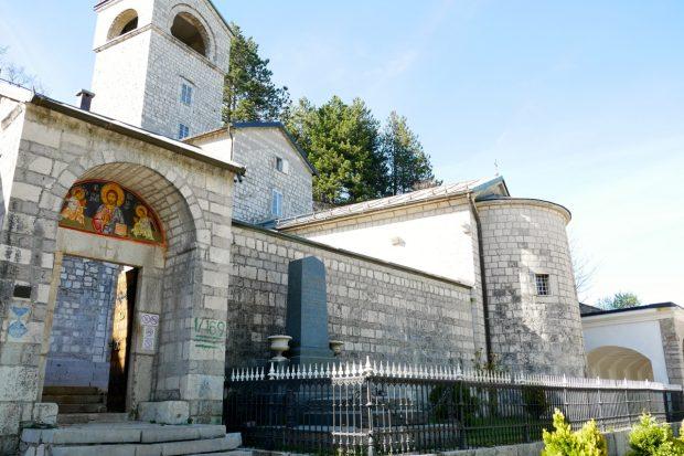 Kloster Cetinje Montenegro Wanderreise