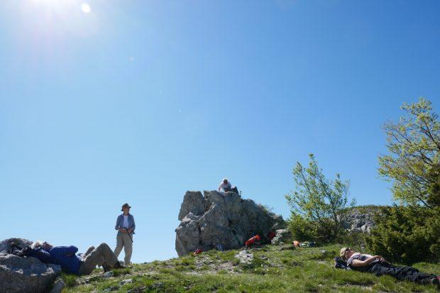 Wanderpause Im Rumija Gebirge