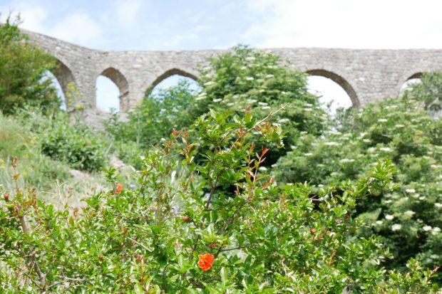 Viadukt In Stari Bar Montenegro