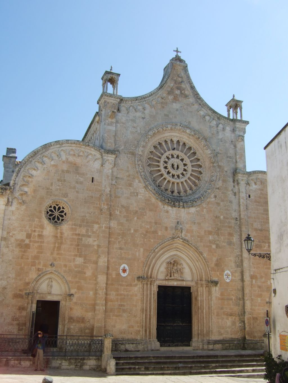 Kathedrale In Ostuni Apulien