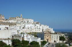 geführte Wanderreise Apulien die Weiße Stadt Ostuni