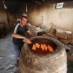 Brotbäckerei in Georgien