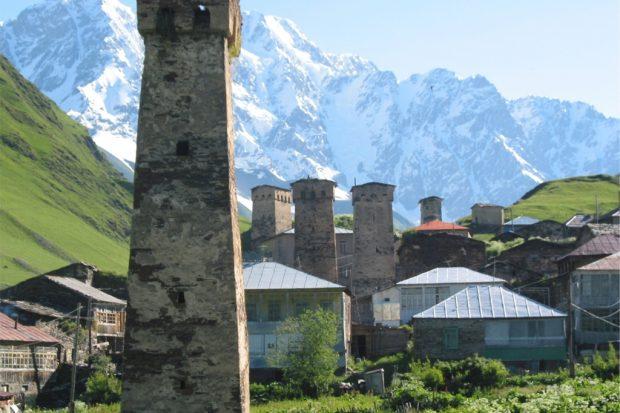 Ushguli Turm Schchara