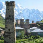 Wanderreise Georgien Ushguli Turm