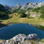 Wanderreise Montenegro Bergsee