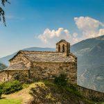kleine Kirche in Andorra