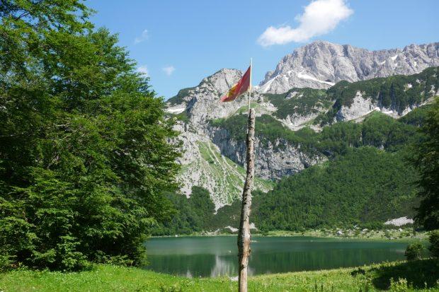 Bosniens Höchster Berg An Der Grenze Zu Montenegro