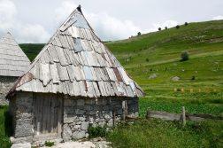 in den Bergen bei Sarajevo