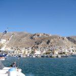 Wanderreise Griechenland Anfahrt auf den Hafen