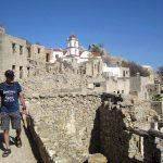 Wanderreise Griechenland Ruinen Mikro Chorio auf Tilos