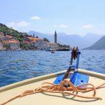 Bootsfahrt in der Bucht von Kotor
