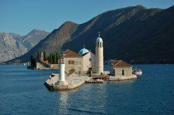 Inseln in der Bucht von Kotor