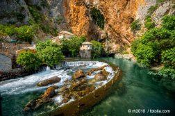Quelle der Buna mit Derwisch Kloster