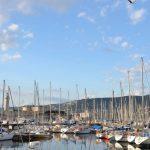 Segelboote im Hafen von Triest