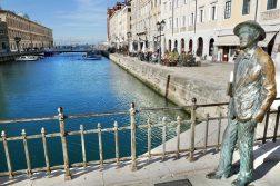 geführte Wanderreise Triest James Joyce am Canale Grande