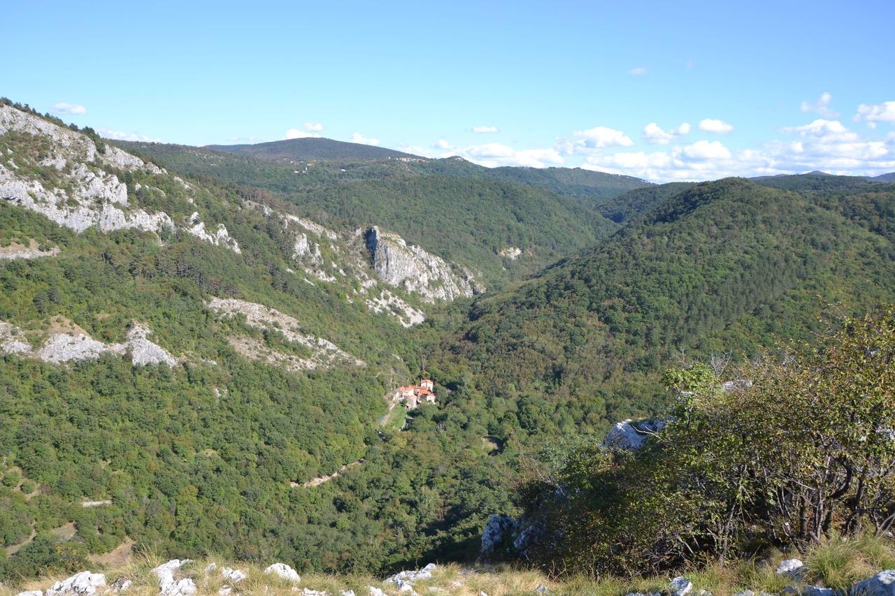 Im Naturpark Val Rosandra Bei Triest