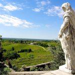 Wanderreise Friaul Blick auf das Weingebiet Collio