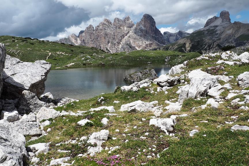 Bergsee An Den Drei Zinnen