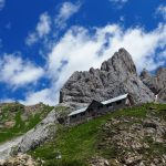 geführte Wanderreise Dolomiten Calvi Hütte bei Sappada