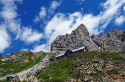 Calvi Hütte bei Sappada in den Dolomiten
