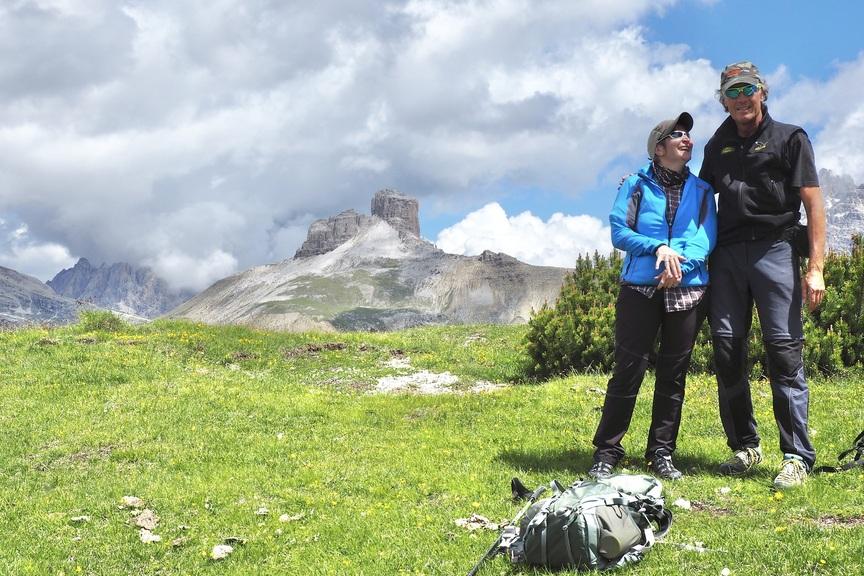 Unsere Wanderführer Auf Der Drei Zinnen Tour