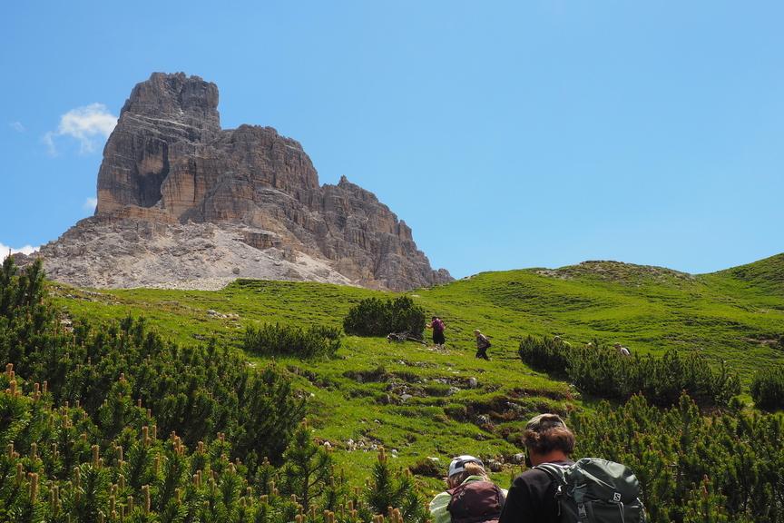 geführte Wanderreise Dolomiten Wanderung zu den Drei Zinnen (UNESCO Naturerbe)