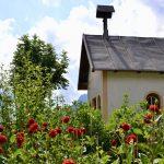 kleine Kapelle in Sappada im Osten der Dolomiten
