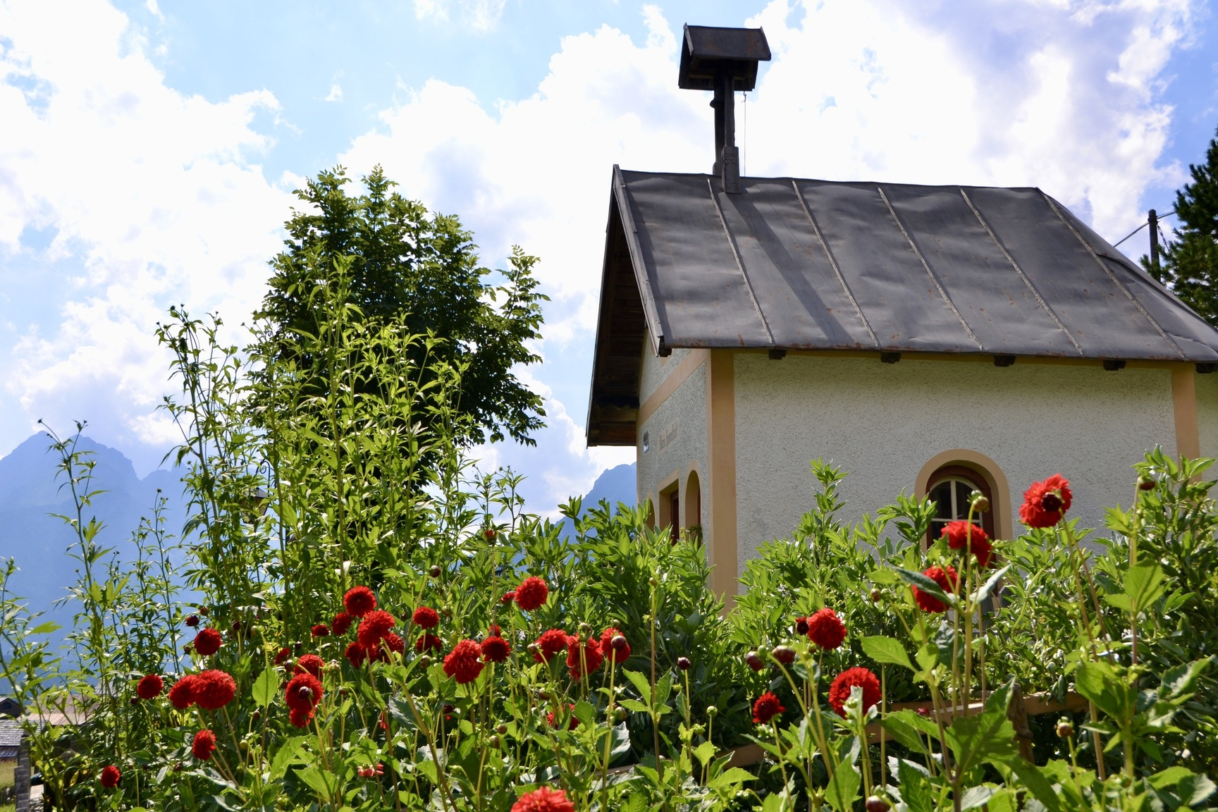 Kleine Kapelle In Sappada