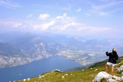 Blick vom Monte Baldo auf das Nordufer