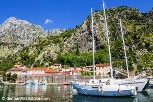 Altstadt von Kotor vom Meer