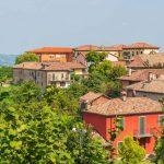 typische Häuser des Piemont