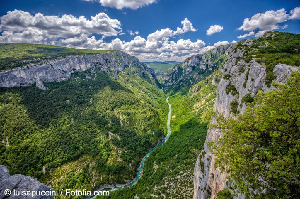geführte Wanderreise Provence der Verdon Canyon