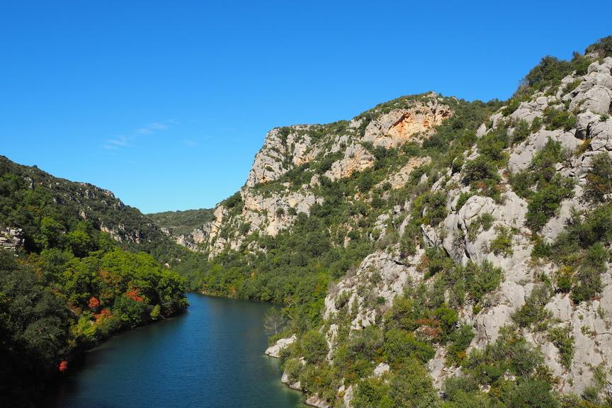 Auf Der Wanderreise Durch Die Provence