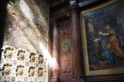 besondere Erscheinung im Kircheninneren