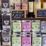 große Auswahl Olivenöle