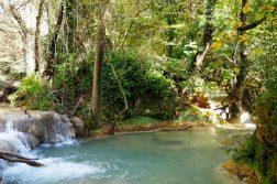 Wasserläufe bei Sillans-la-Cascade