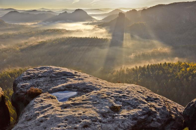 Blick Auf Die Böhmische Schweiz