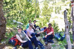 Wandergruppe im Prenj Gebirge bei Mostar