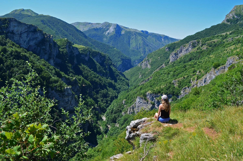 Blick Auf Den Rakitnica-Canyon