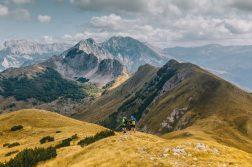 Berggipfel im Sutjeska-Nationalpark