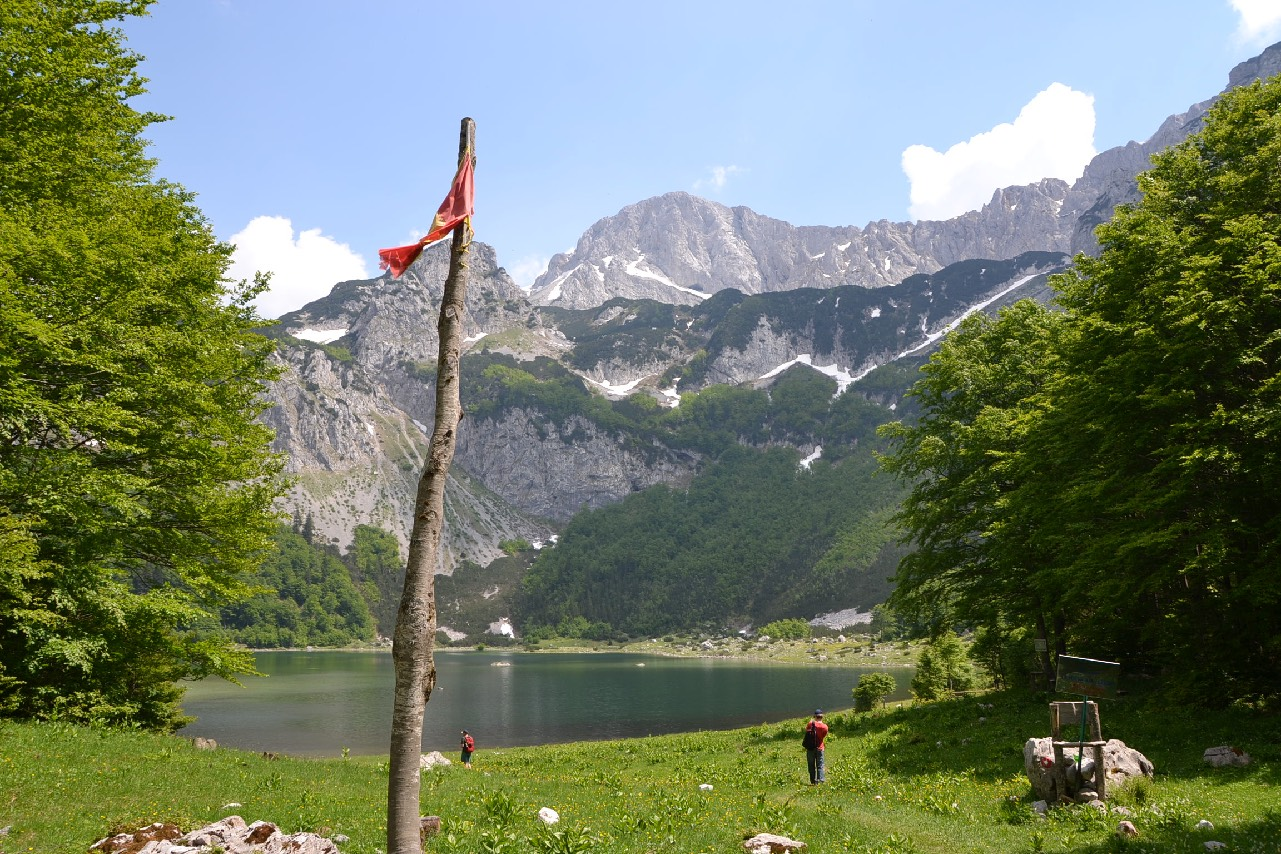 Gletschersee Im Sutjeska Nationalpark