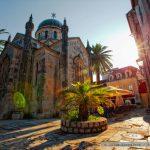 orthodoxe Kirche in der Altstadt von Herzeg Novi Montenegro