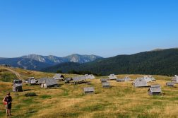 unsere Holzhütten im Nationalpark Bjelasica